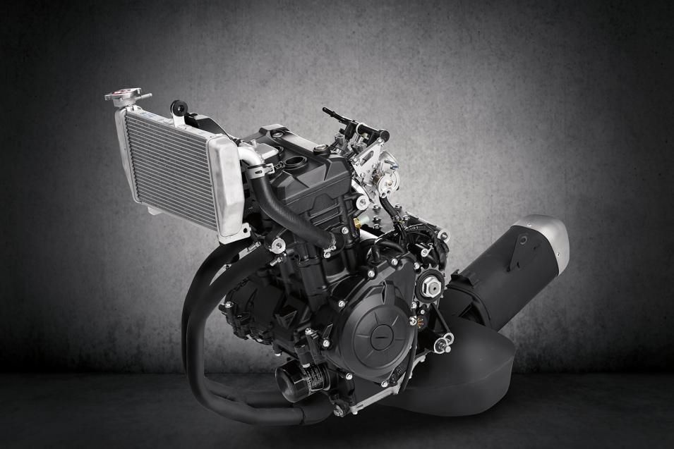 321cc Inline Twin Cylinder Engine