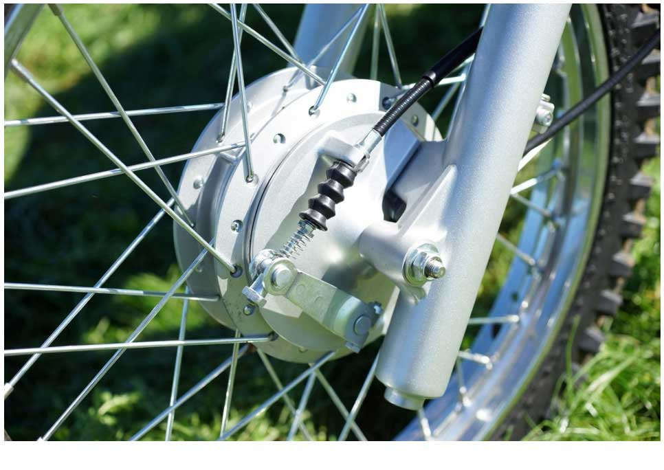 Braking is delivered by low maintenance sealed drum brakes front and rear. Drum brakes are ideal for farm use because while disc brakes can provide better stopping power in great conditions, farmers often encounter mud and dust that can drastically reduce the ability of a disc setup.