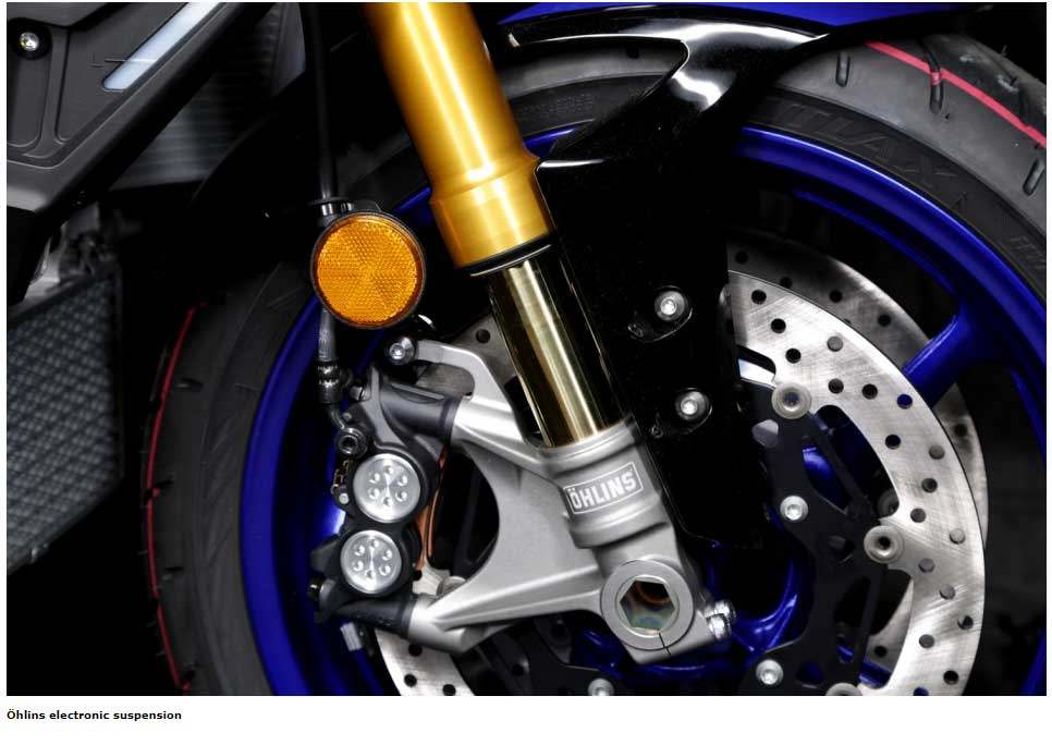 Öhlins electronic suspension