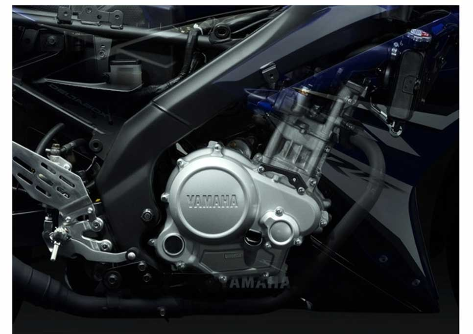 Uprated 686cc liquid-cooled engine