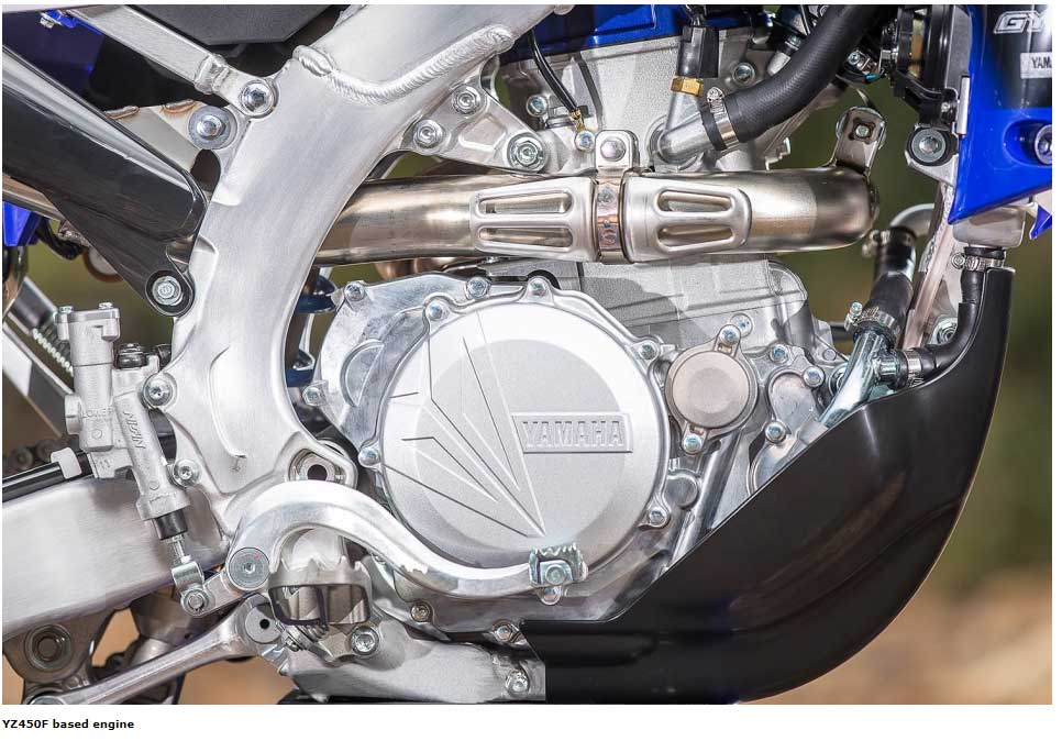 YZ450F based engine