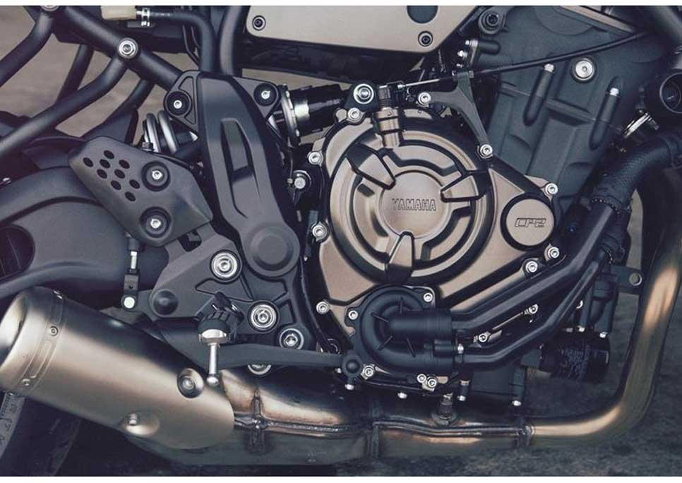 Outstanding 655c inline 2-cylinder engine