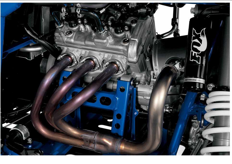 Featuring a compact DOHC twelve-valve cylinder head, an aggressive 11.3:1 compression ratio and high-tech dry-sump lubrication, the YXZ1000R SS SE engine offers jaw-dropping power, fantastic midrange torque and a thrilling 10,500 rpm redline. New high strength connecting rods provide the durability Yamaha is known for—even under the demands of high-output modifications like turbocharging. Built for the pure sport side-by-side enthusiast, there's nothing else like it.