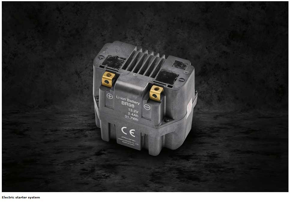 Electric starter system