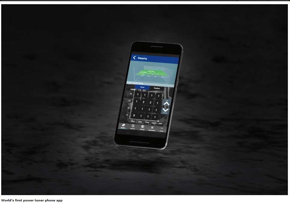 World's first power tuner phone app